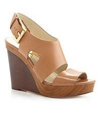 MICHAEL Michael Kors Carla Platform Wedge Sandals