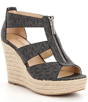 MICHAEL Michael Kors Damita Caged Espadrille Wedge Sandals