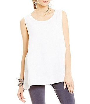Bryn Walker Light Linen Long Trapeze Tank