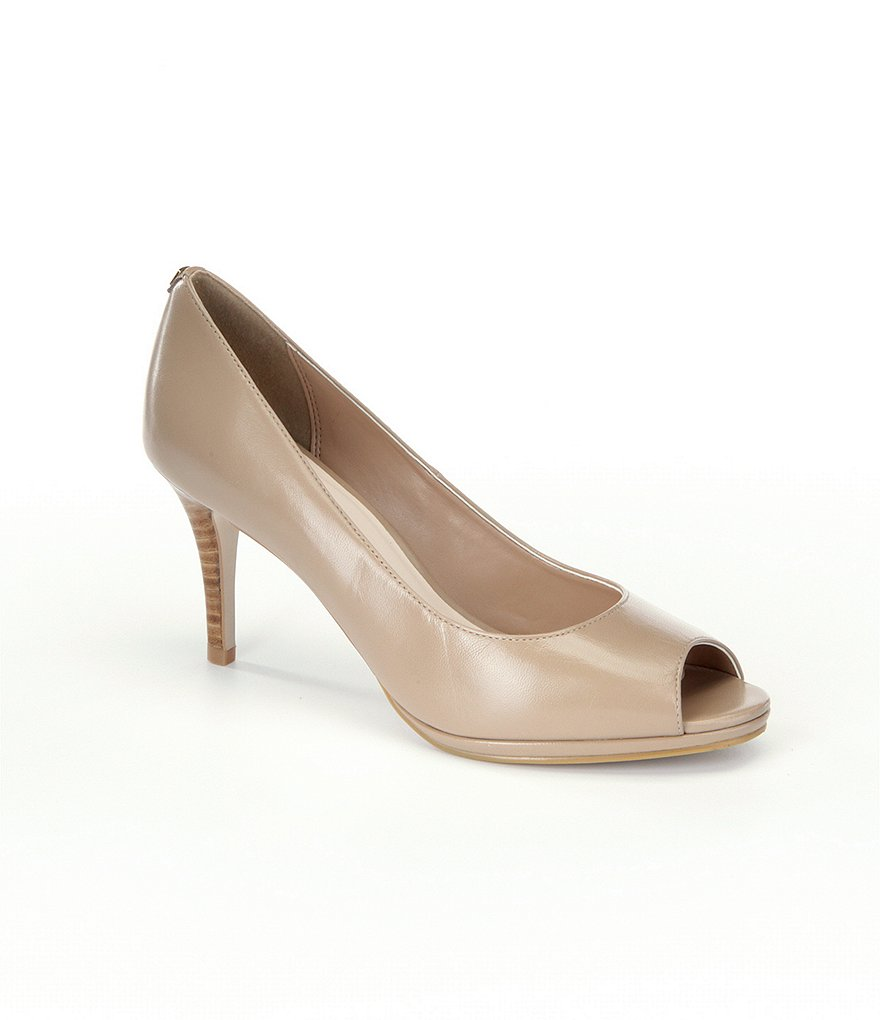 Cole Haan Davis Peep-Toe Pumps