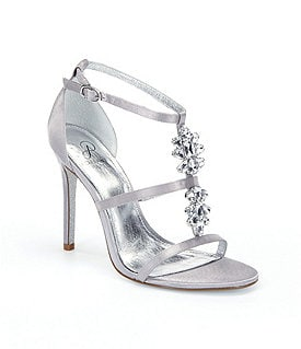 Adrianna Papell Daphne Jeweled Dress Sandals Image