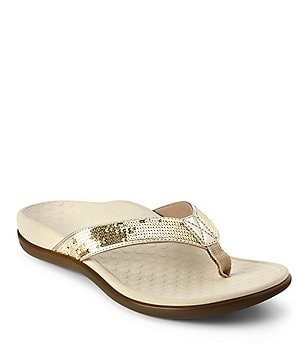 Vionic® Tide Jeweled Flip-Flops