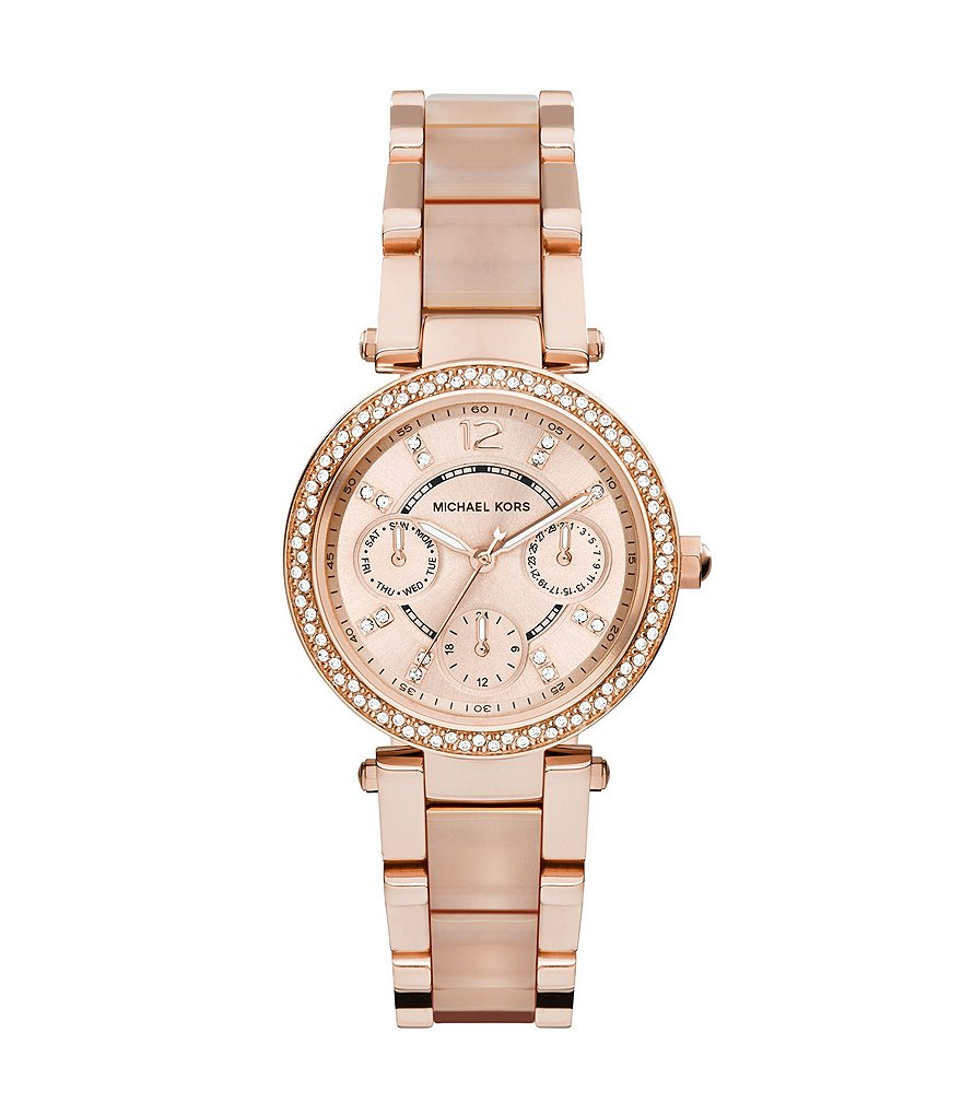 Michael Kors Mini Parker Multifunction Watch