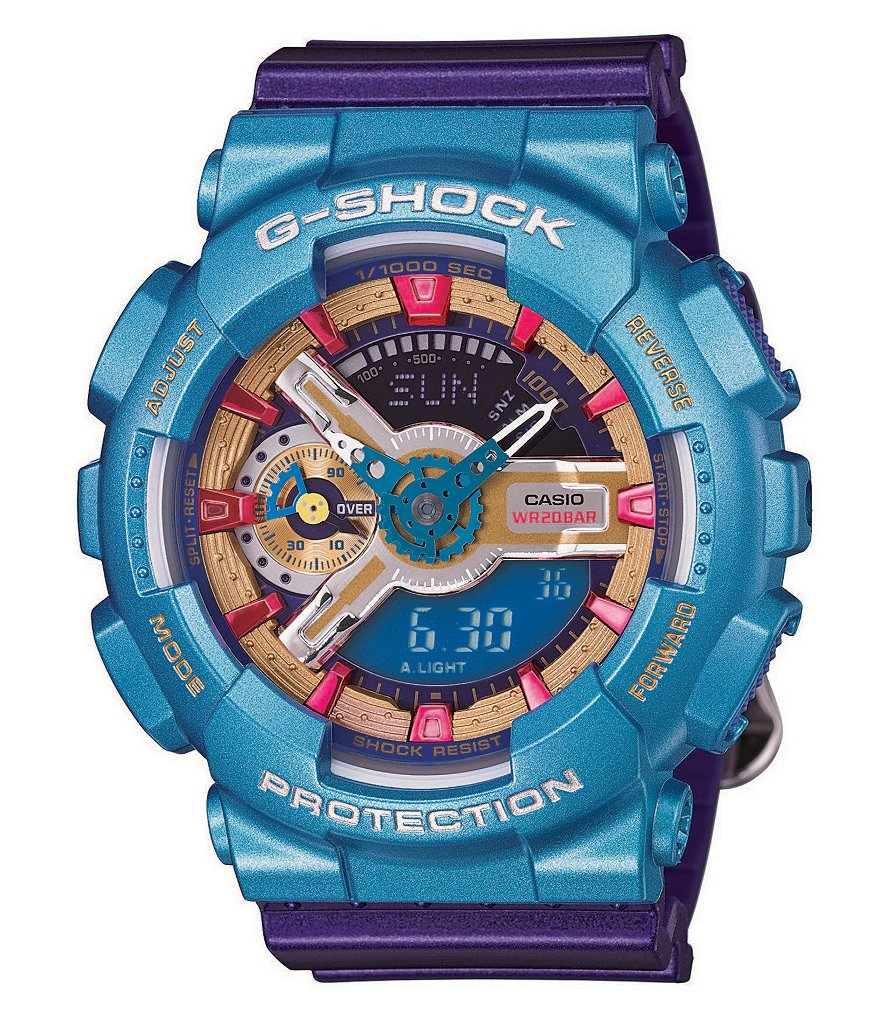 G-Shock Purple Ana-Digi S Series Watch