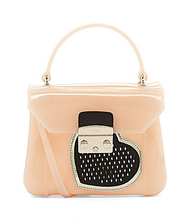 Furla Candy Bon Bon Mini Heart Cross-Body Bag