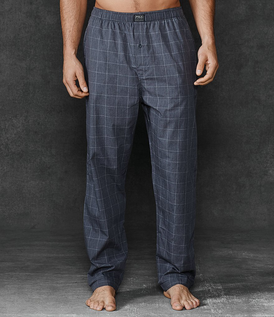 Polo Ralph Lauren Windowpane Woven Pajama Pants