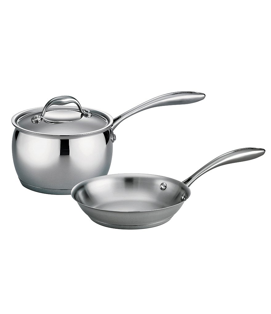 Southern Living 3-Piece Stainless Steel Tri-Ply Set