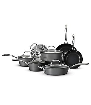 Southern Living 11-Piece Hard-Anodized Aluminum Nonstick Cookware Set