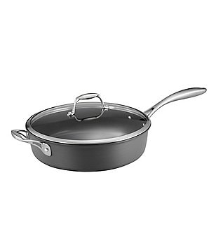 Southern Living 5.5 Quart Hard-Anodized Non-Stick Covered Sauté Pan