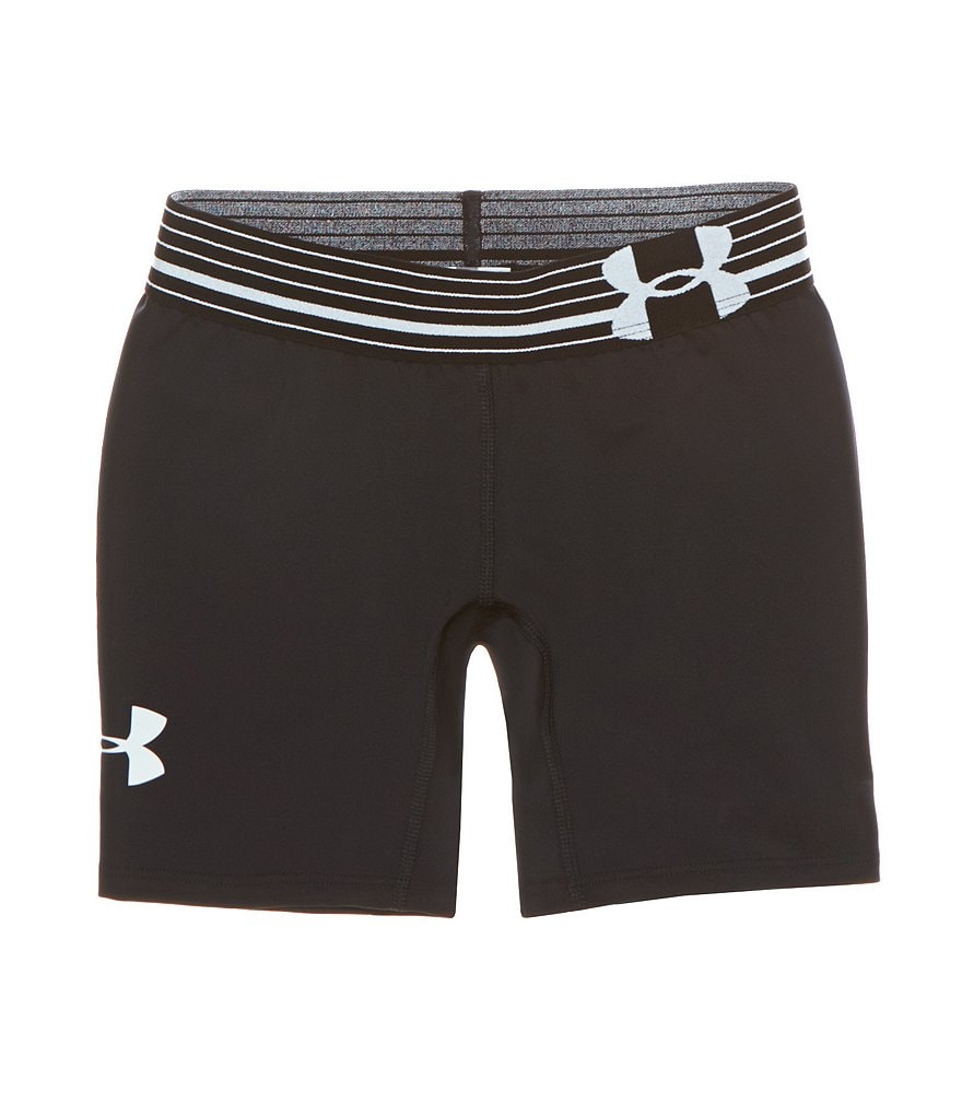 Under Armour Big Girls 7-16 HeatGear Armour 5in. Solid Shorts