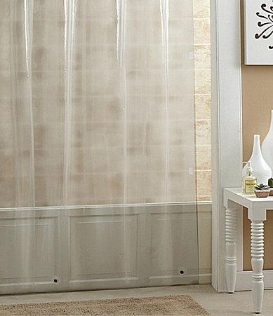 noble excellence 72 heavy weight peva shower curtain