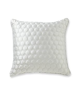 candice OLSON Ventura Shimmery Quilted Square Pillow