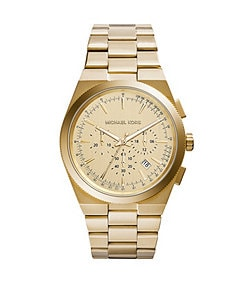 Michael Kors Men's Gold Tone Channing Watch