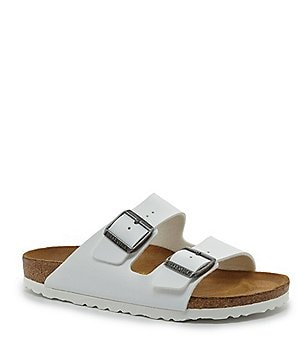 Birkenstock Arizona Double Banded Buckle Slide On Sandals