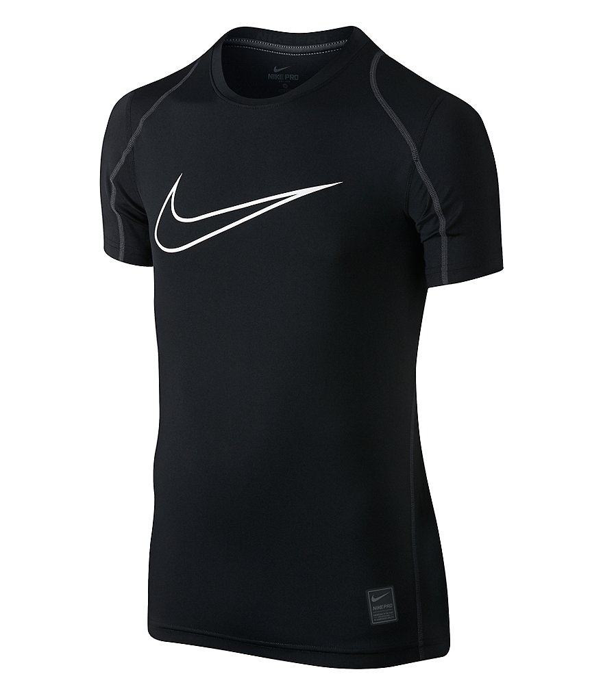 Nike Big Boys 8-20 Hypercool HBR Fitted Short-Sleeve Tee