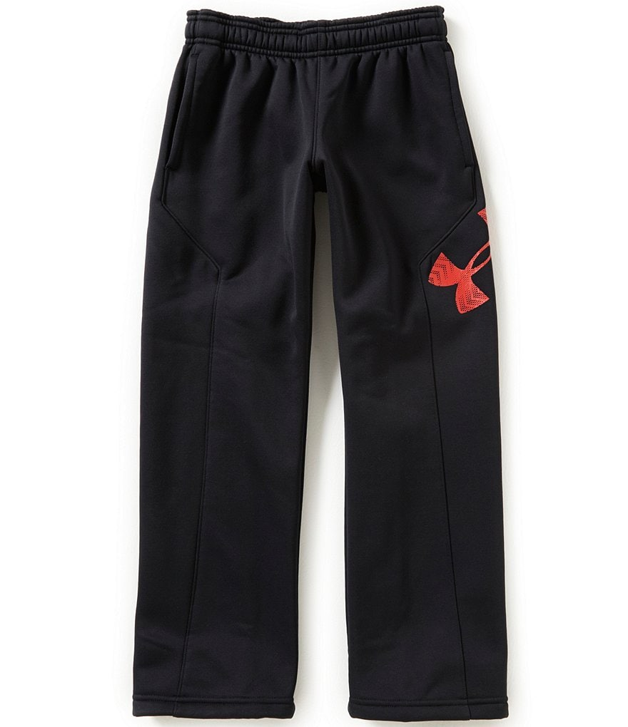 Under Armour Big Boys 8-20 Storm Armour Fleece Big Logo Pants