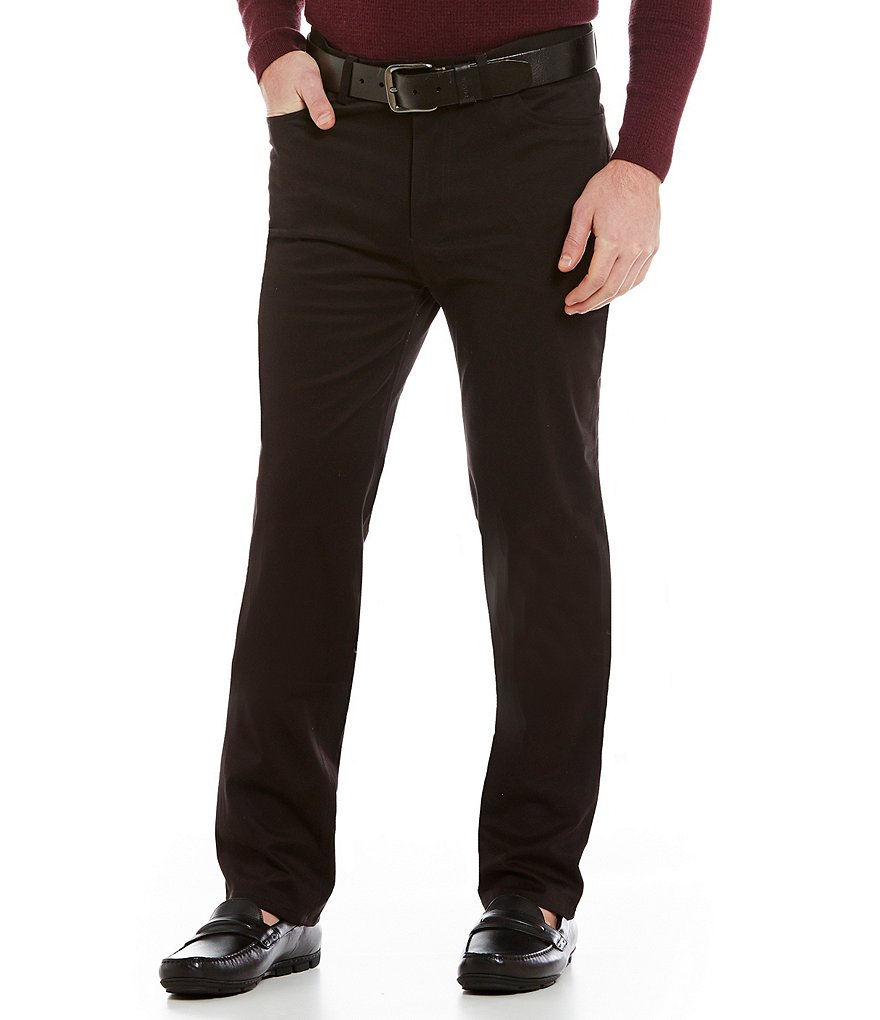 Vince Camuto Slim-Fit Flat-Front Chino Pants