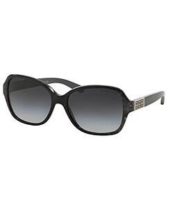 MICHAEL Michael Kors Polarized Cuiaba Snake Square Sunglasses