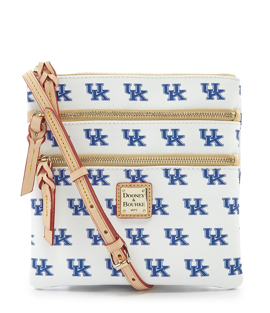 Dooney & Bourke University of Kentucky Triple-Zip Cross-Body Bag