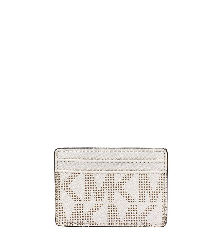 MICHAEL Michael Kors Signature Jet Set Travel Card Holder