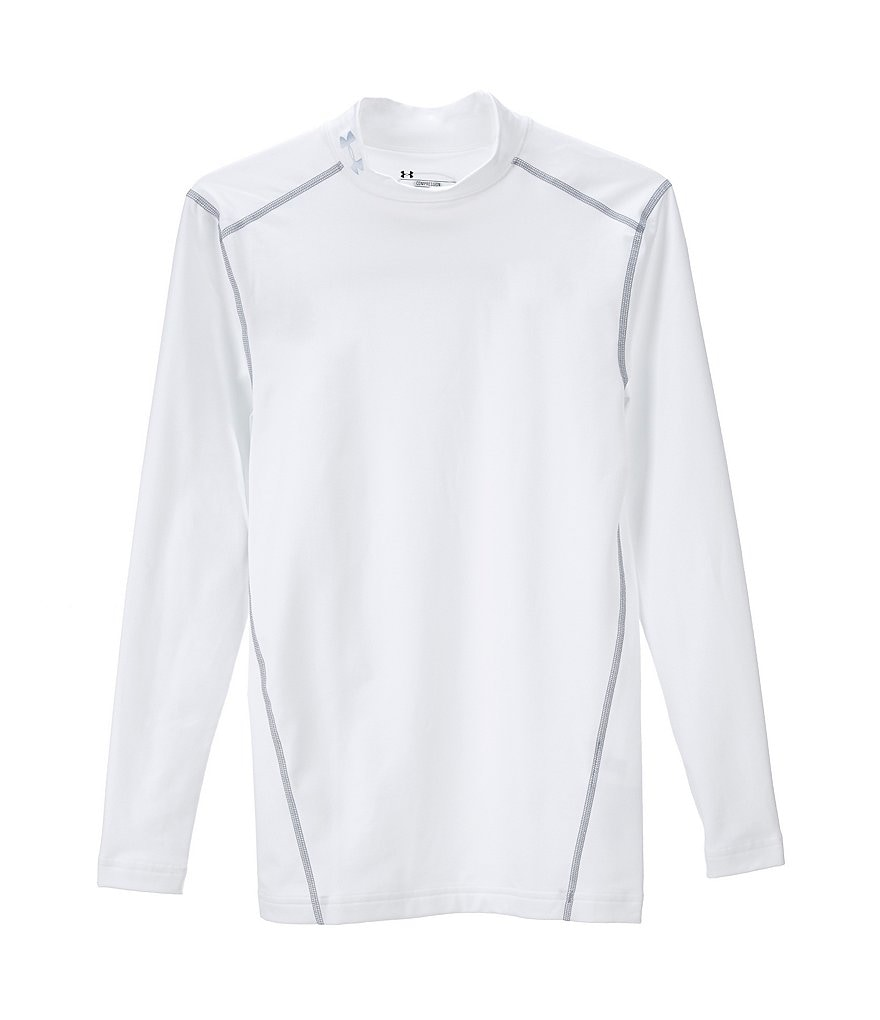 Under Armour Coldgear Armour Compression Long-Sleeve Mock Pullover
