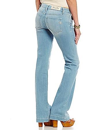 Miss Me Mid-Rise Wide-Leg Jeans