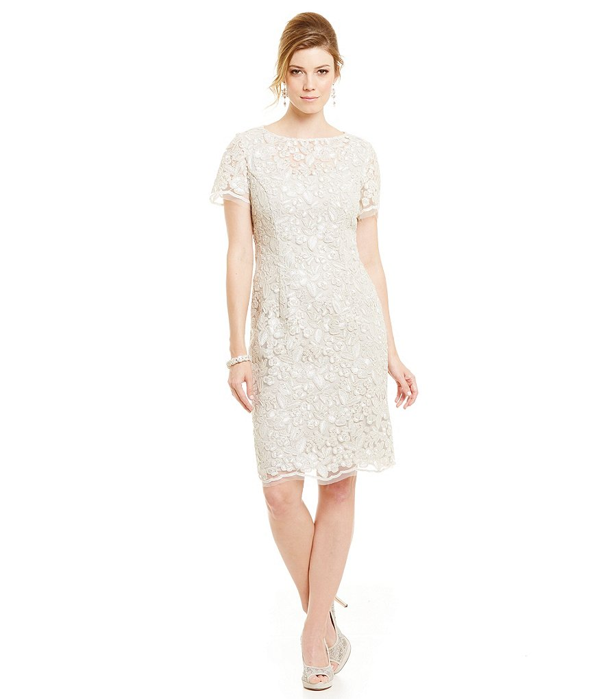 Alex Evenings Petite Lace Shift Dress