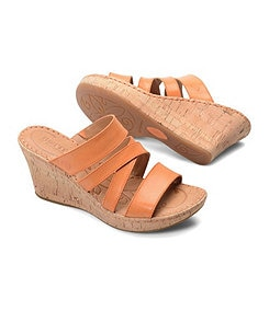 Born Zemora Wedge Sandals