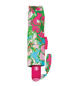 Lilly Pulitzer Big Flirt Travel Umbrella