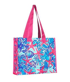 Lilly Pulitzer She She Shells Market Bag