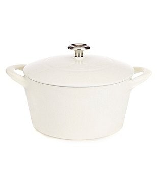 Southern Living 5.5-Quart Round Enameled Cast Iron Dutch Oven