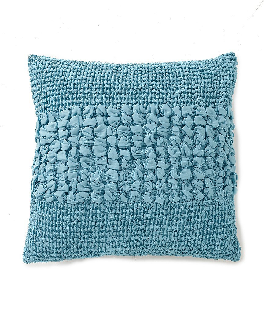 Studio D Serenade Ruched Square Pillow