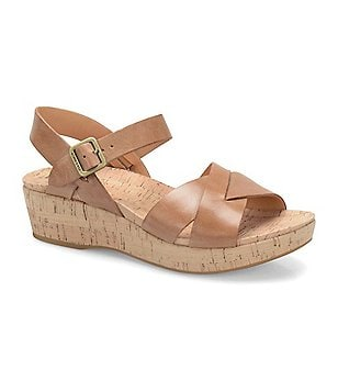 Kork-Ease Myrna 2.0 Ankle-Strap Wedge Sandals