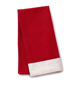 Southern Living Oversize Weave Solid Kitchen Towel