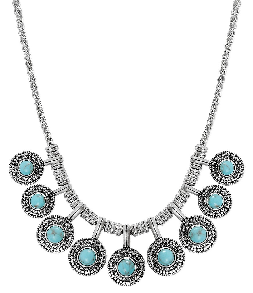 Lucky Brand Turquoise Collar Necklace