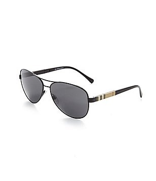 Burberry Canvas Check Aviators