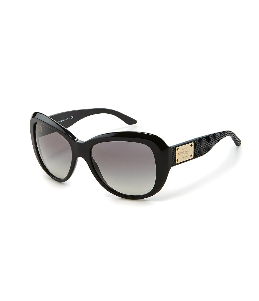 Versace Oversize Glam Butterfly Sunglasses