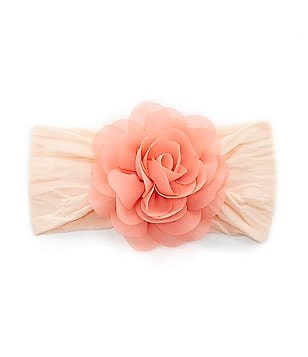 Starting Out Satin Rose 2-Tone Headband