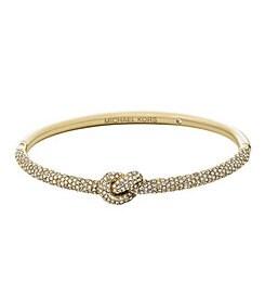 Michael Kors Pav� Knot Hinge Bracelet