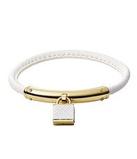 Michael Kors Padlock Leather Bracelet