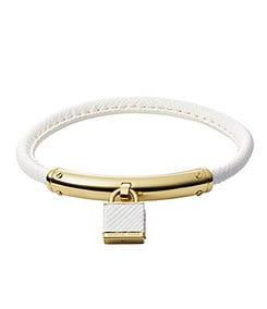 Michael Kors Padlock Leather Bracelet