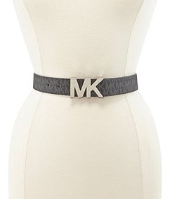Michael Kors MK Channel Buckle Belt