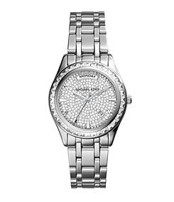 Michael Kors Ladies' Kiley Silver Watch