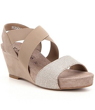 Mephisto Barbara Wedge Sandals