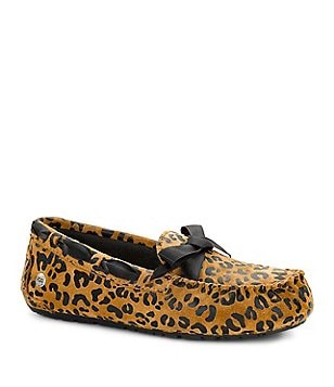 UGG® Ryder Girls´ Leopard Slippers