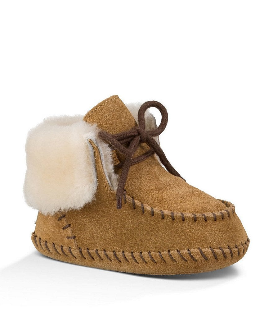 UGG® Sparrow Girls´ Crib Shoes