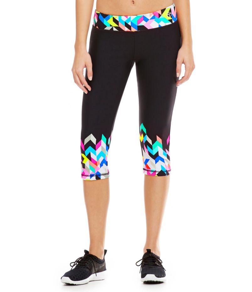 Trina Turk Recreation Kaleidoscope Mid-Length Leggings