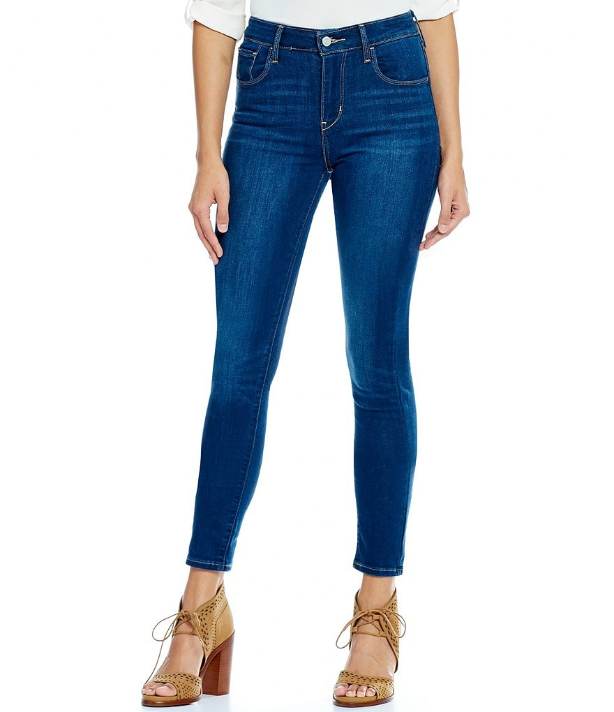 Levi´s High-Rise Skinny Jeans