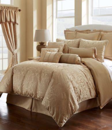 Waterford Lynath Filigree Woven Geometric Jacquard Comforter Set Dillards