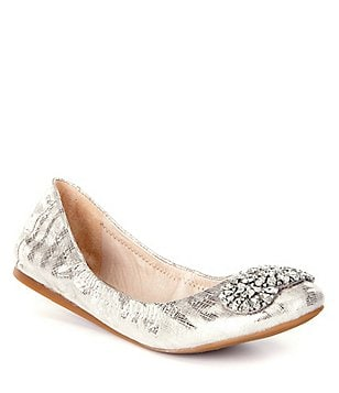 Image result for antonio melani silver flats